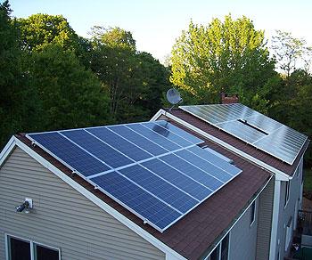 کاربرد سلول خورشیدی - صفحه خورشیدی در ساختمان